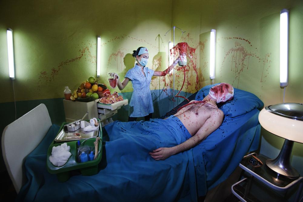 Personal | Losan Piatti - Fotografo Toscana_Humanity_11b Aggressive treatment