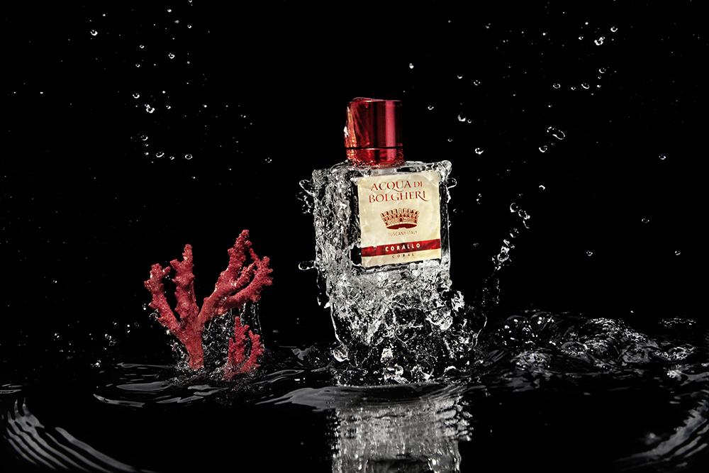 Still Life | Losan Piatti - Fotografo Toscana_Acqua di Bolgheri_Corallo_Advertising_01