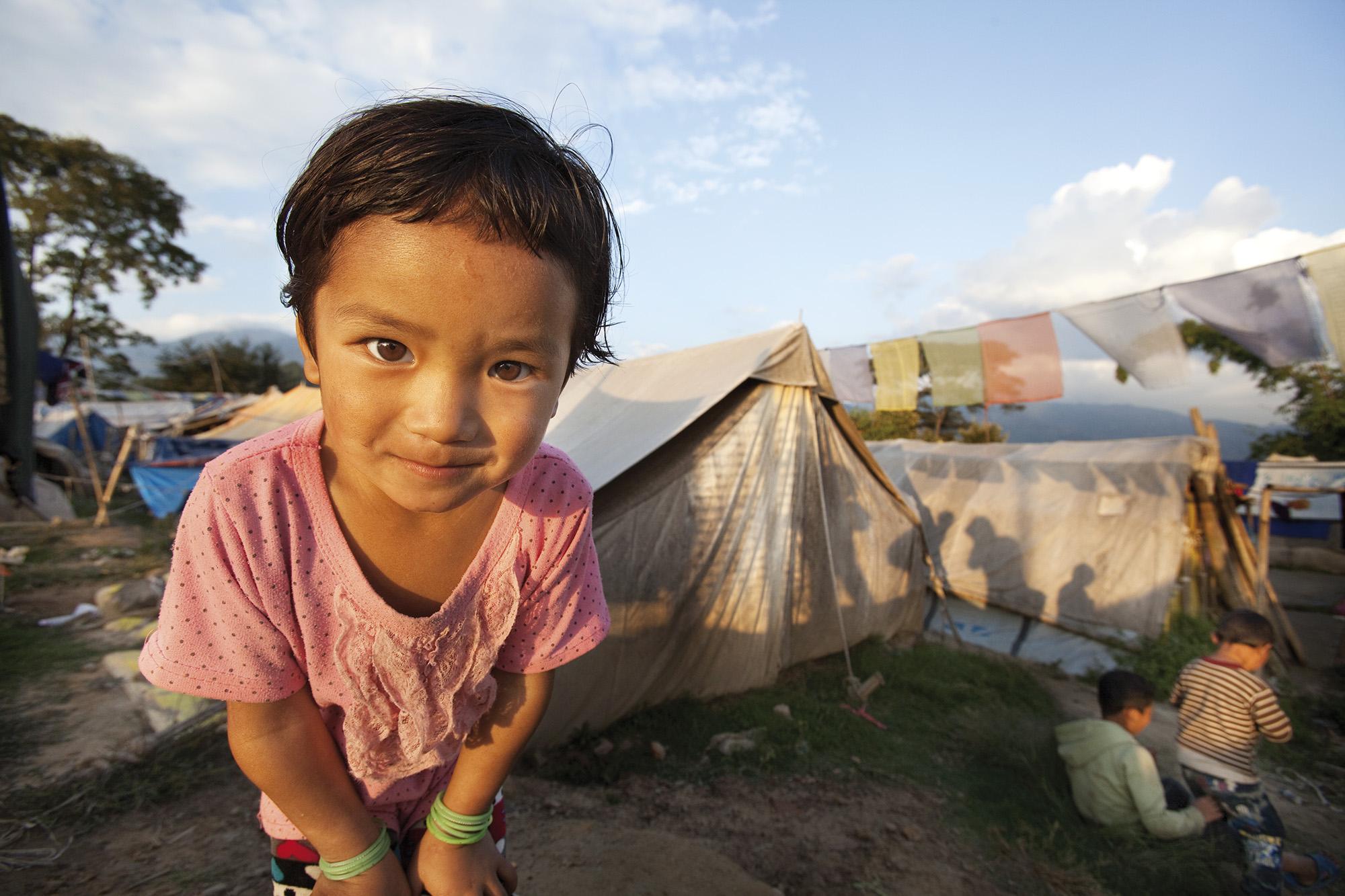 Reportage | Losan Piatti - Fotografo Italia_Nepal 2015_Campo terremotati