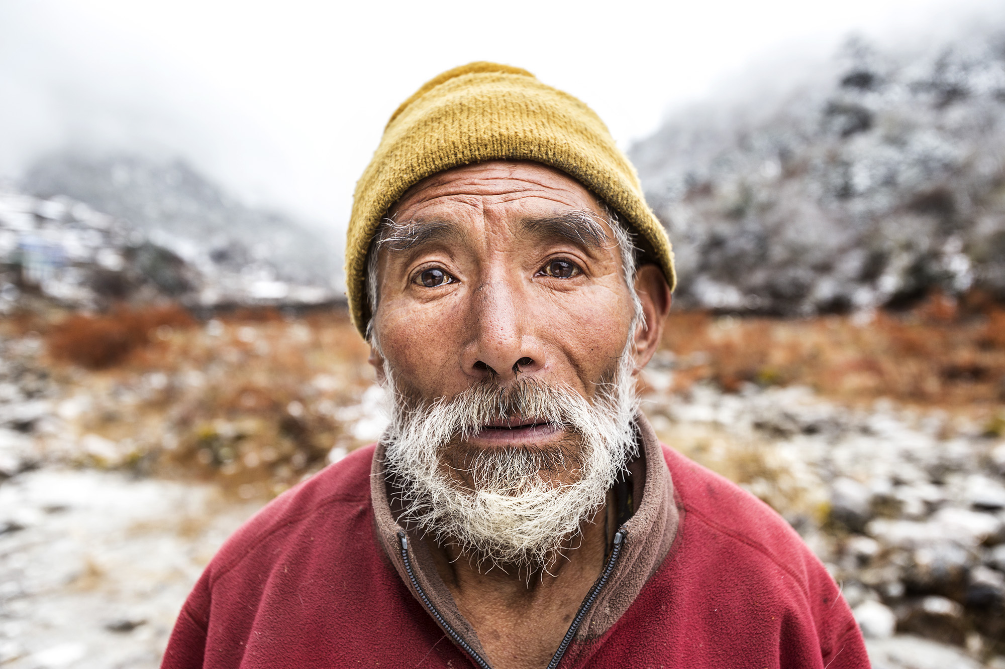 Reportage | Losan Piatti - Fotografo Italia_Nepal 2015_Uomo Sherpa
