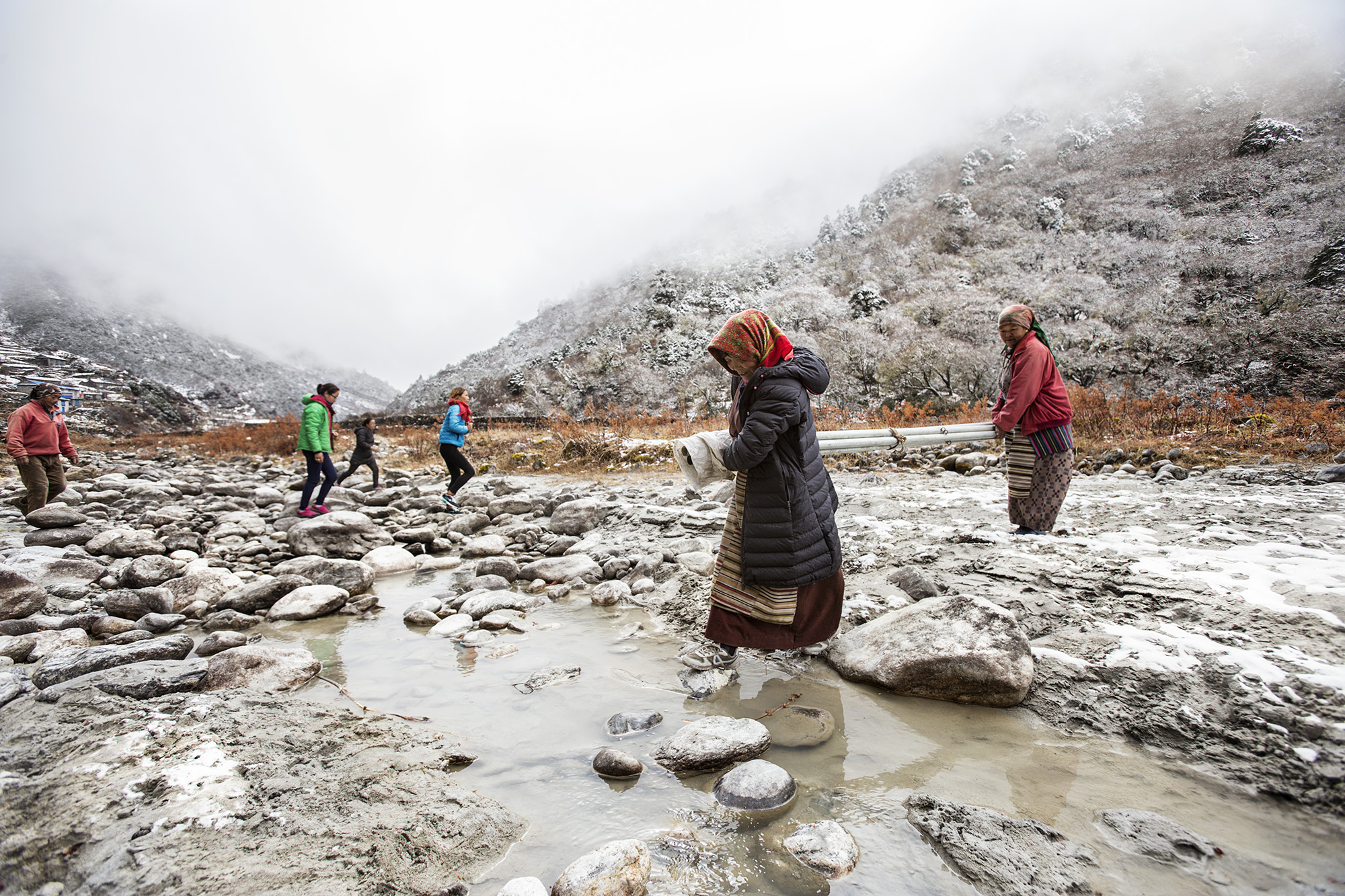 Reportage | Losan Piatti - Fotografo Italia_Nepal 2015_Donne Sherpa