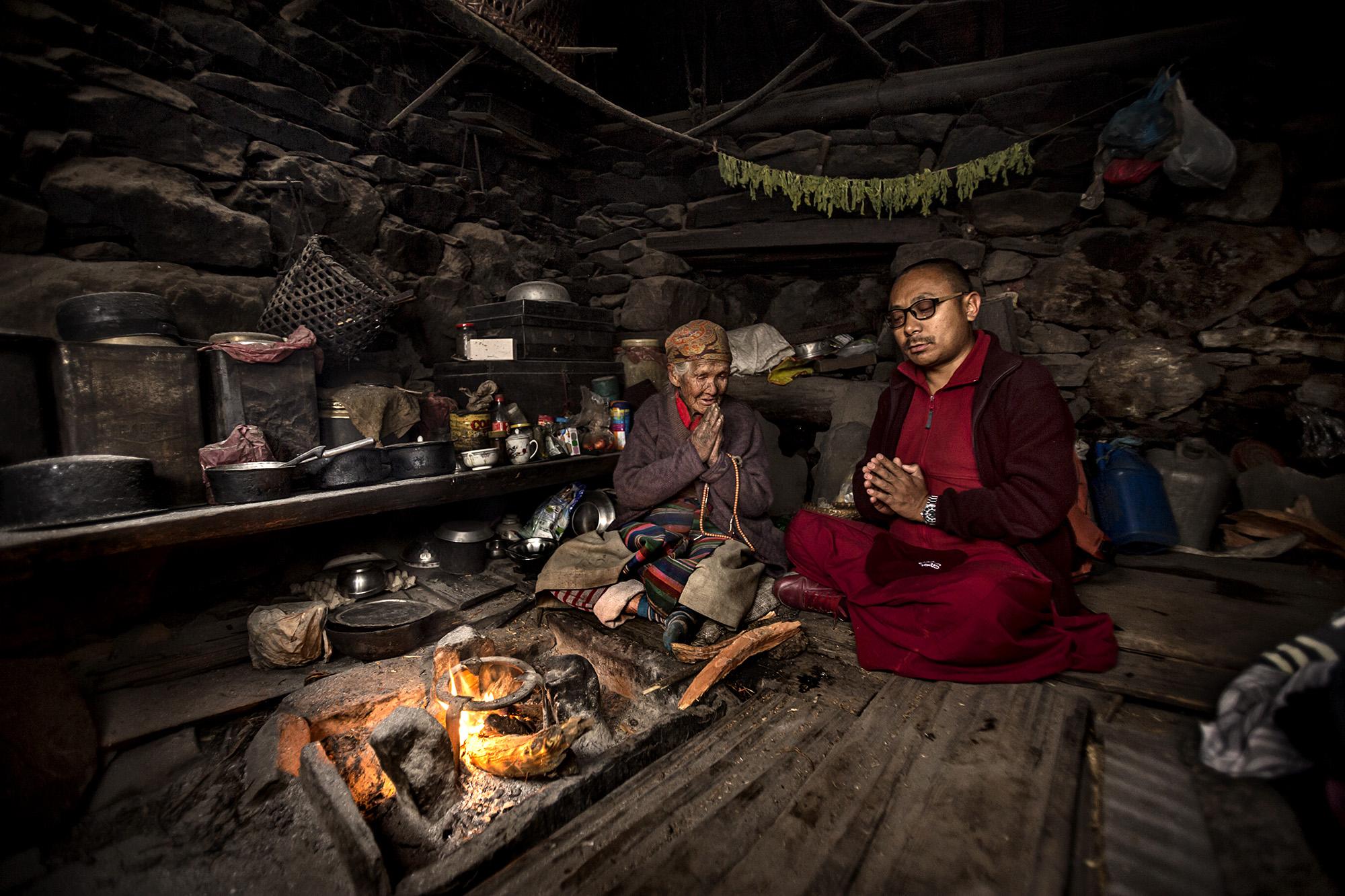 Reportage | Losan Piatti - Fotografo Italia_Nepal 2015_Casa Sherpa