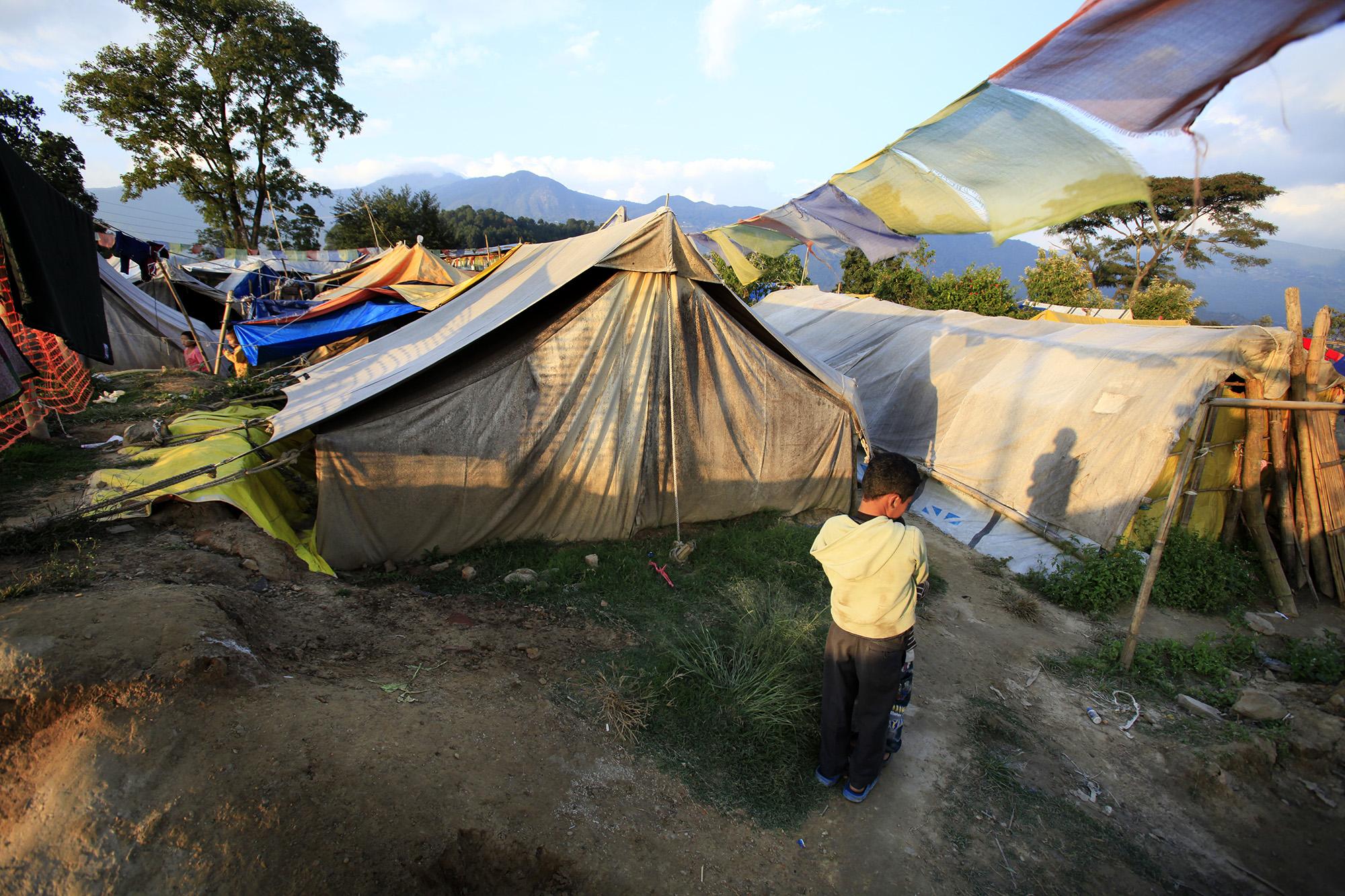 Reportage | Losan Piatti - Fotografo Italia_Nepal 2015_Terremoto Campo