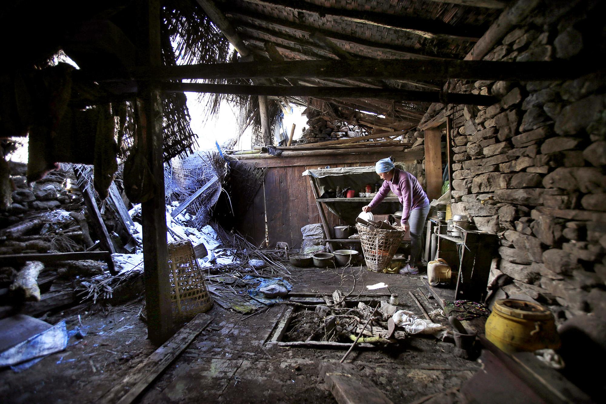 Reportage | Losan Piatti - Fotografo Italia_Nepal Naa Village